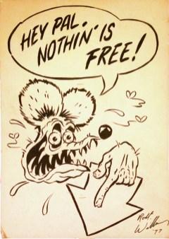 Robert Williams - Hey Pal, Nothin' Is Free!