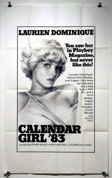 Calendar Girl '83