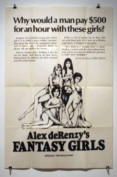 Alex deRenzy's Fantasy Girls