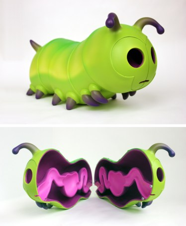 Jason Freeny - Caterpillar