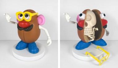 Jason Freeny - Mr. Potato Head Skeletal