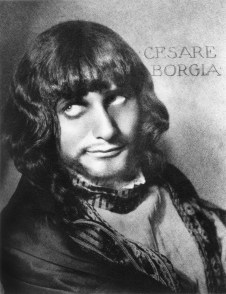 William Mortensen - Cesare Borgia