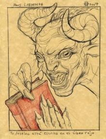 Christopher Ulrich - Pan's Labyrinth (Tu Destino Está Escrito en el Libro Rojo)