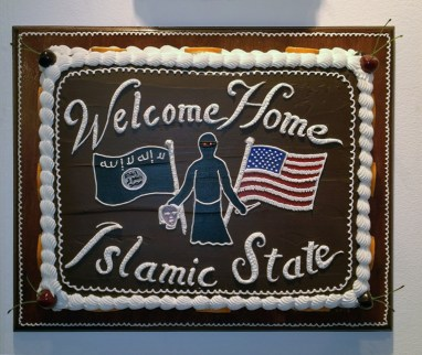Scott Hove - Welcome Home Islamic State Cake