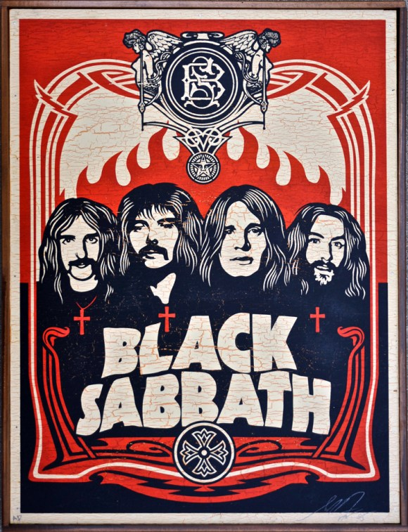 Shepard Fairey - Black Sabbath