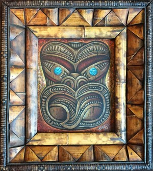"Doug Horne - Maori HeadPastel and pencil on paper, 17x20"" $600"