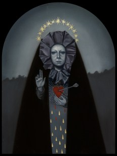 Jasmine Worth - Blood and Tears,oil on board, 9x12 in. $1200 Sold