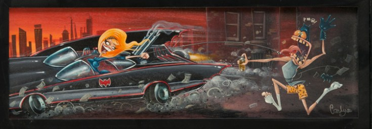 Candy - Serena's Revenge Acrylic on illustration board, 8x24 in. $600 Sold