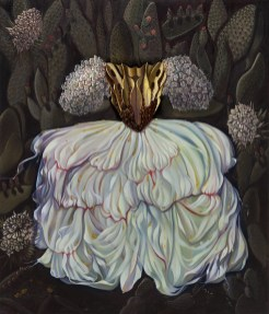 Maryrose Crook - Virgin Queen,oil on canvas, 36x40 in. $14,500