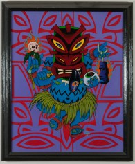 Alan Forbes - Tripping Tiki Acrylic on canvas, 16x20 in. $1200 Sold