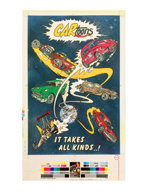 Tom (Fox) Marnick - It Takes All Kinds! Litho Print, 20.5 x 12.5 in.