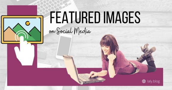 featured clickable images on social media