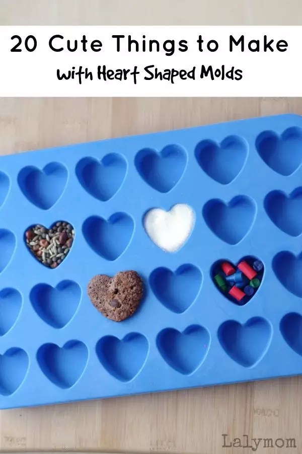 20 Cute Valentines Day Gifts Using Heart Shaped Moulds