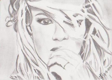 Portret van Britney Spears