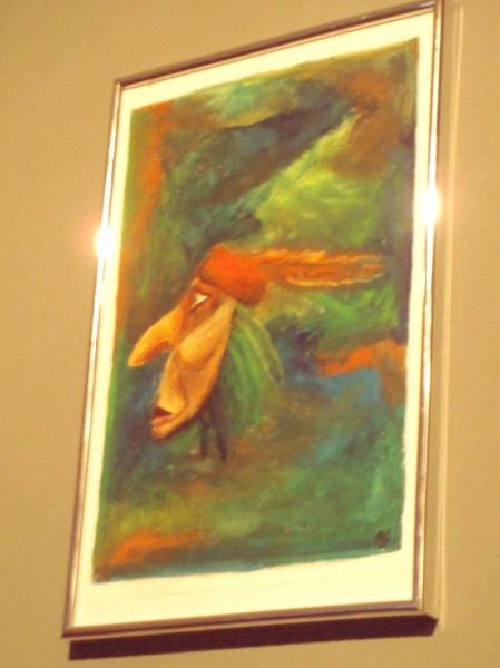 Schilderij Indiaan