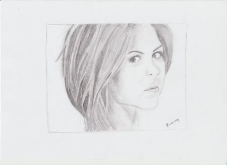 Drawing Jennifer Aniston