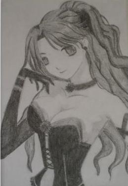 Manga meisje