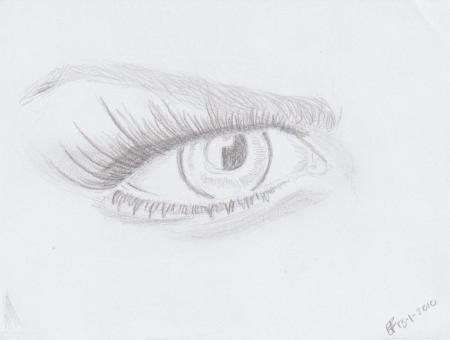 Vrouwelijk oog