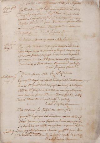 Correva l'anno 1768