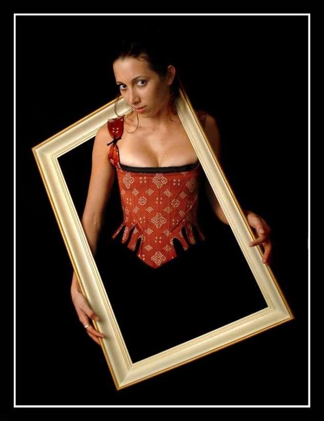 corset sur mesure 1780