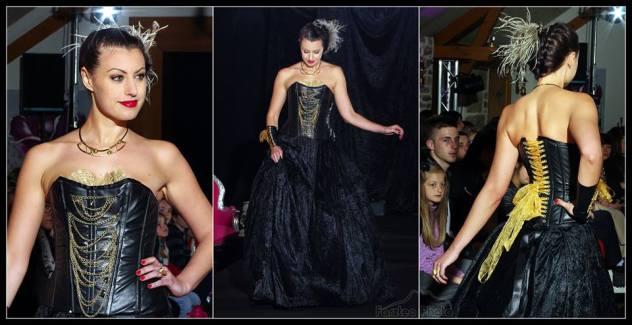 robe-de-mariee-corset-cuir-velours-noir