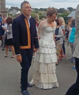 robes de mariées de dentelle de Calais_Emilie Quinquis et Yann Tiersen