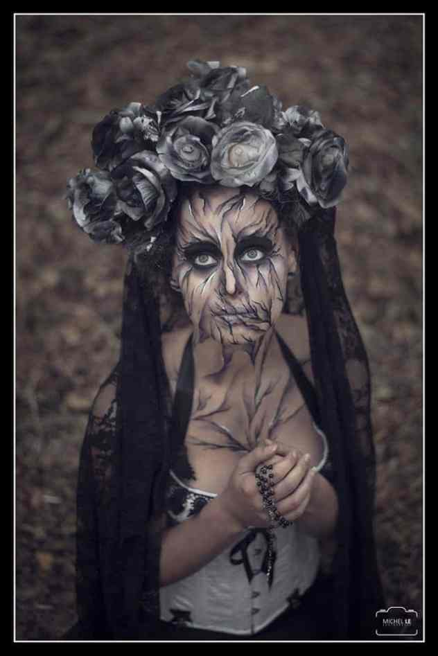Halloween maquillage et costume