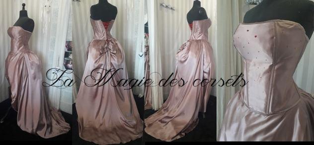 robe de mariée en soie mannequin