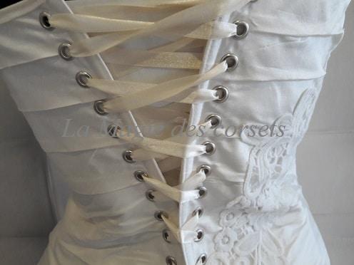 robe de mariée drapée