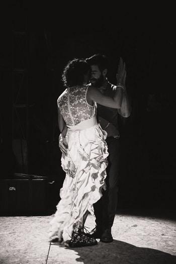 robe de mariée customisée