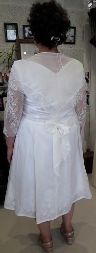 robe de mariée Ouessantine