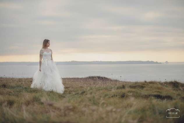 robe de mariée nature