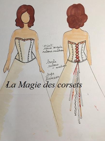 robe de mariée Madras