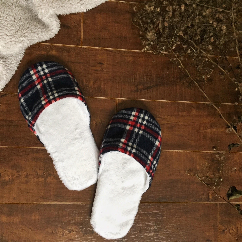J'ai cousu des chaussons