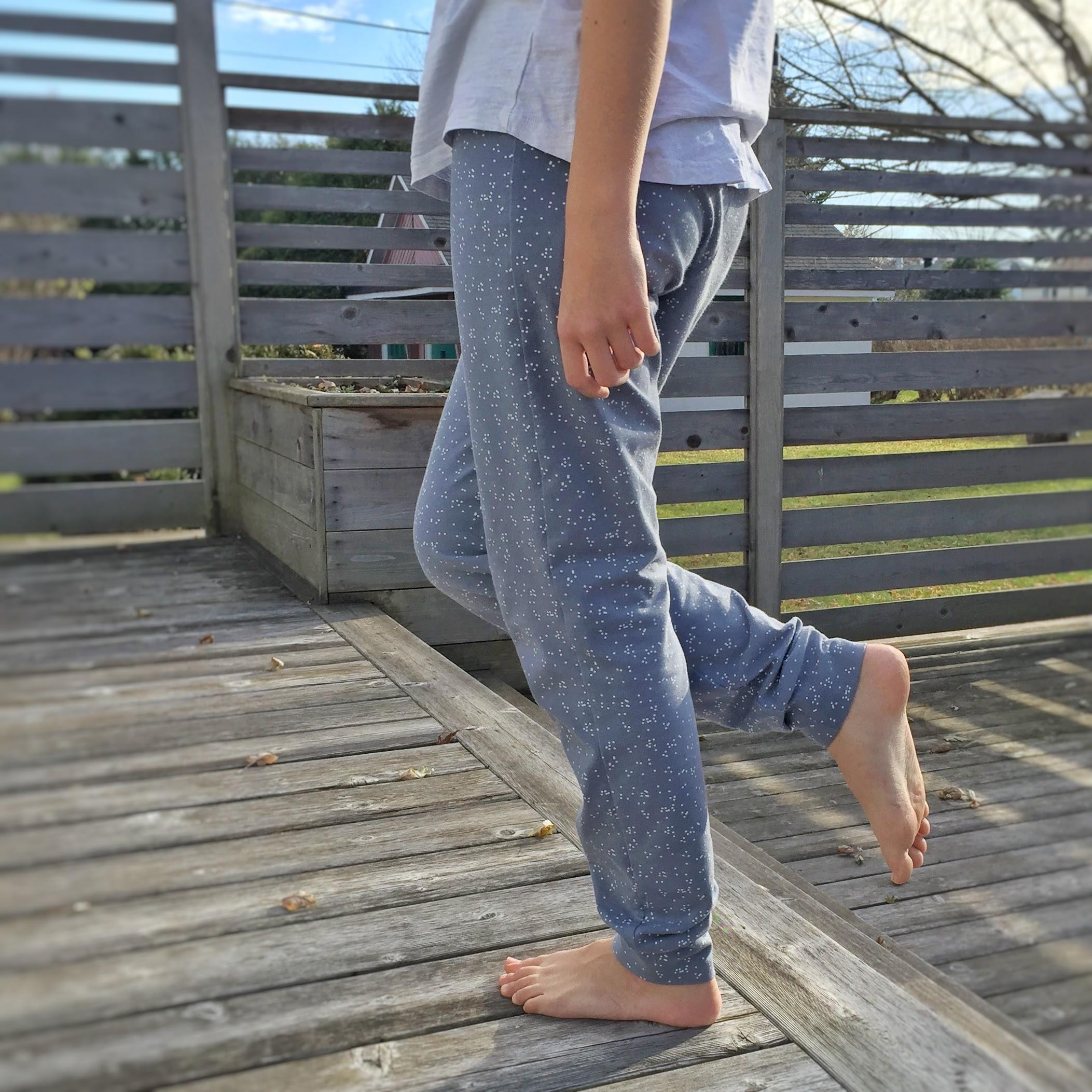 Le pantalon de pyjama Jeanne !