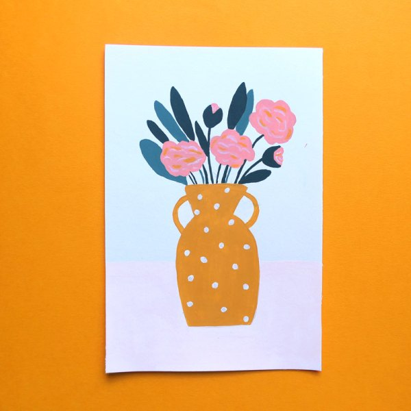Illustrations pivoines