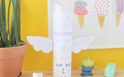 DIY le totem en papier
