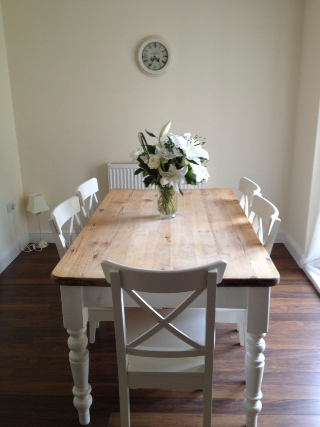 Project Dining Table With Before Amp After Maison Belle