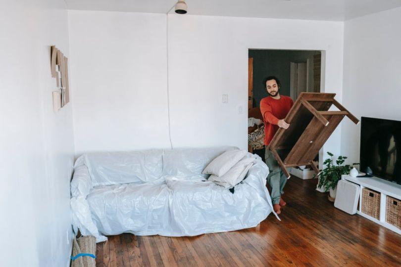 emballer meuble