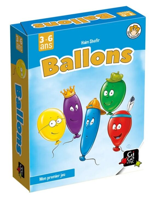 Ballons 2 à 5 joueurs 3 ans +