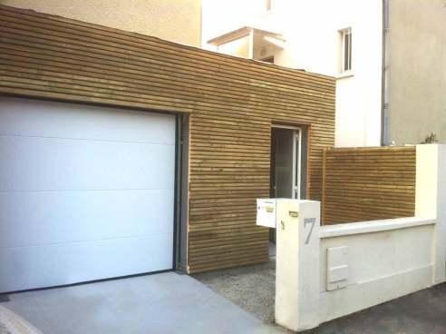 Extension sur garage