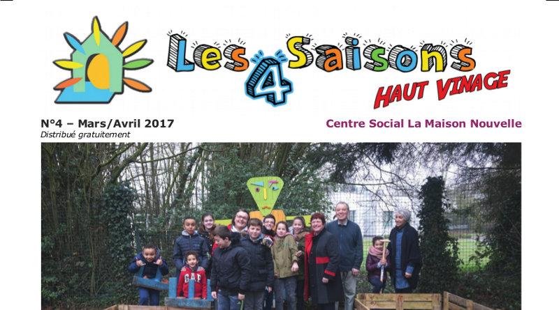 Journal Les 4 Saisons – N°4 Février/Mars 2017