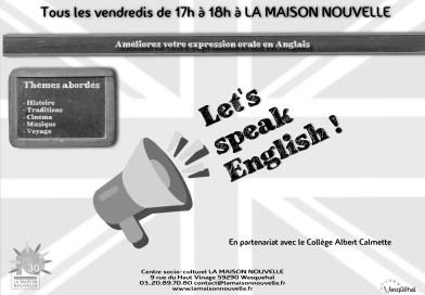 Let's speak english!