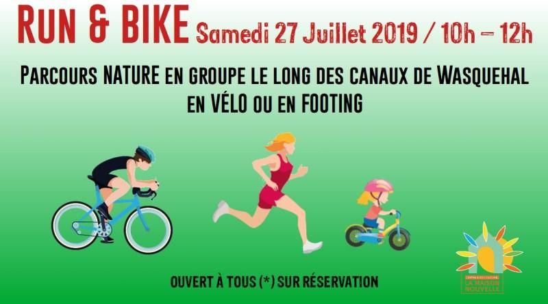 Run & Bike – Sa. 27 juillet 10h