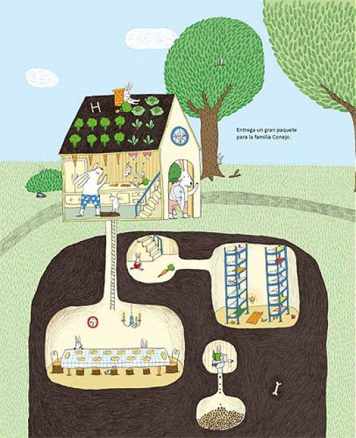 La Ruta del Ratón Cartero libro infantil