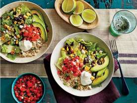 SL QFS - Healthy in a Hurry/Light and Easy/Back to School - Burrito Bowls