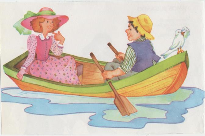 Jueves cantarín: Al pasar la barca