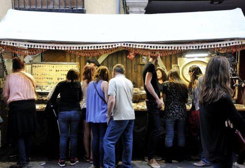 Visita al mercado cervantino de Alcalá de Henares