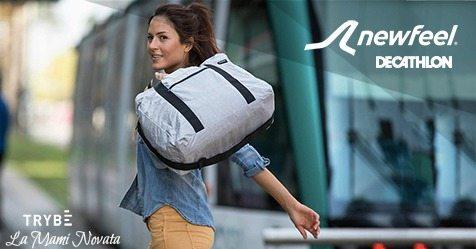 Consigue una maleta Newfeel con Trybe y La Mami Novata