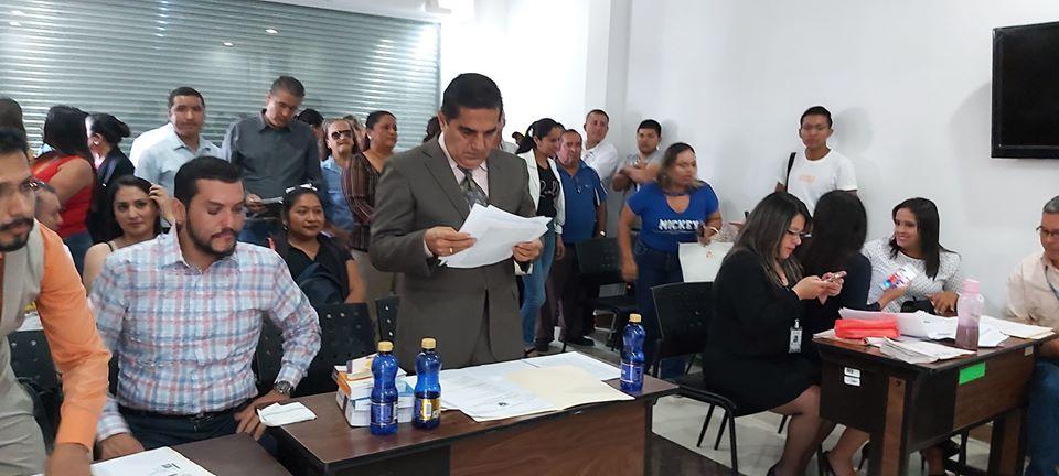 Audiencia de protección a favor de la concejal Sra. Mónica Loor